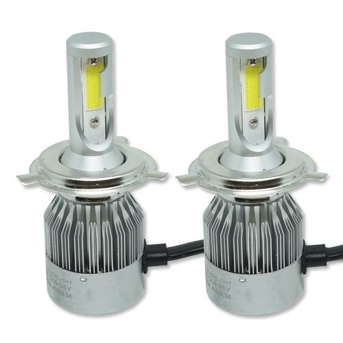 Par Lâmpada Super Led 9000 Lumens 12V 24V H4 (Bi) 6000K  - BEST SALE SHOP