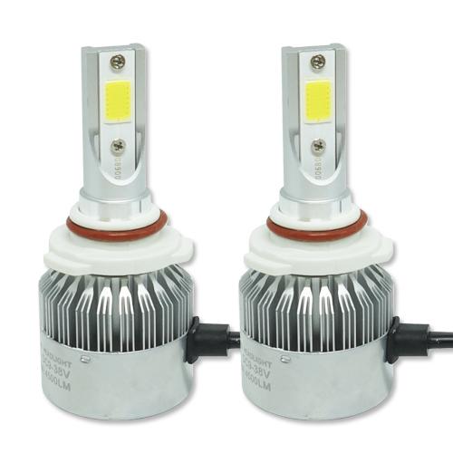 Par Lâmpada Super Led 9000 Lumens 12V 24V HB3 9005 6000K