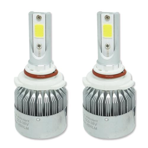 Par Lâmpada Super Led 9000 Lumens 12V 24V HB4 9006 6000K  - BEST SALE SHOP