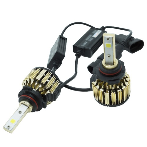 Par Lâmpada Super Led Automotiva Kit 9000 Lumens 12V 24V 48W D-Max Farol HB4 9006 6000K  - BEST SALE SHOP