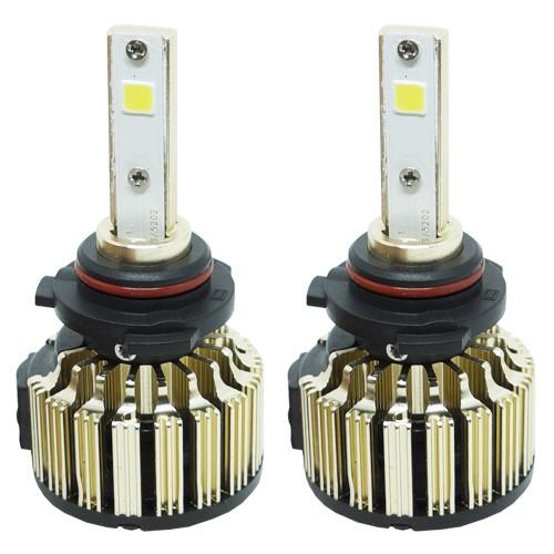 Par Lâmpada Super Led Automotiva Kit 9000 Lumens 12V 24V Farol HB4 9006 6000K  - BEST SALE SHOP