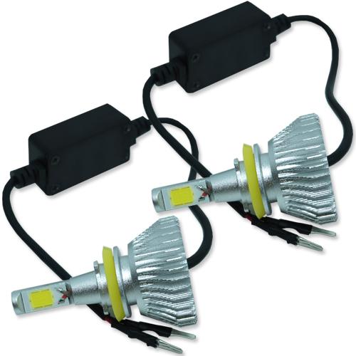 Par Lâmpada Super Led com Canceller 6400 Lumens 12V 24V 32W Seven Parts H11 6000K  - BEST SALE SHOP