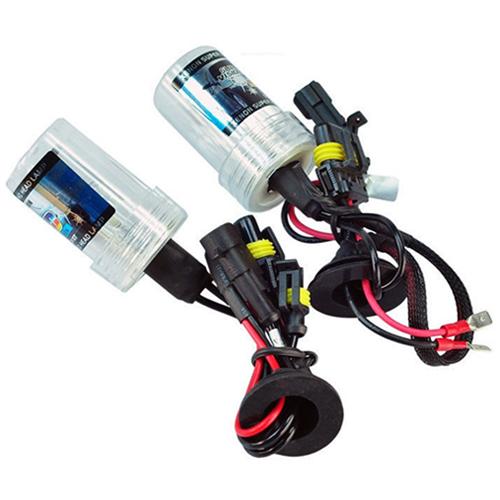 Par Lâmpada Xenon Reposição 12V 35W H11 8000K  - BEST SALE SHOP