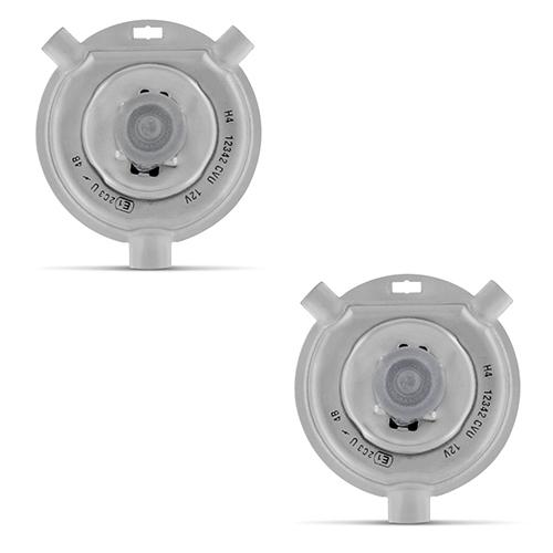 Par Lâmpada Xenon Reposição 12V 35W H4-2 6000K