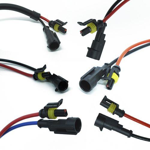 Par Reator Xenon Slim Reposição Universal 12V 35W para Carro e Moto