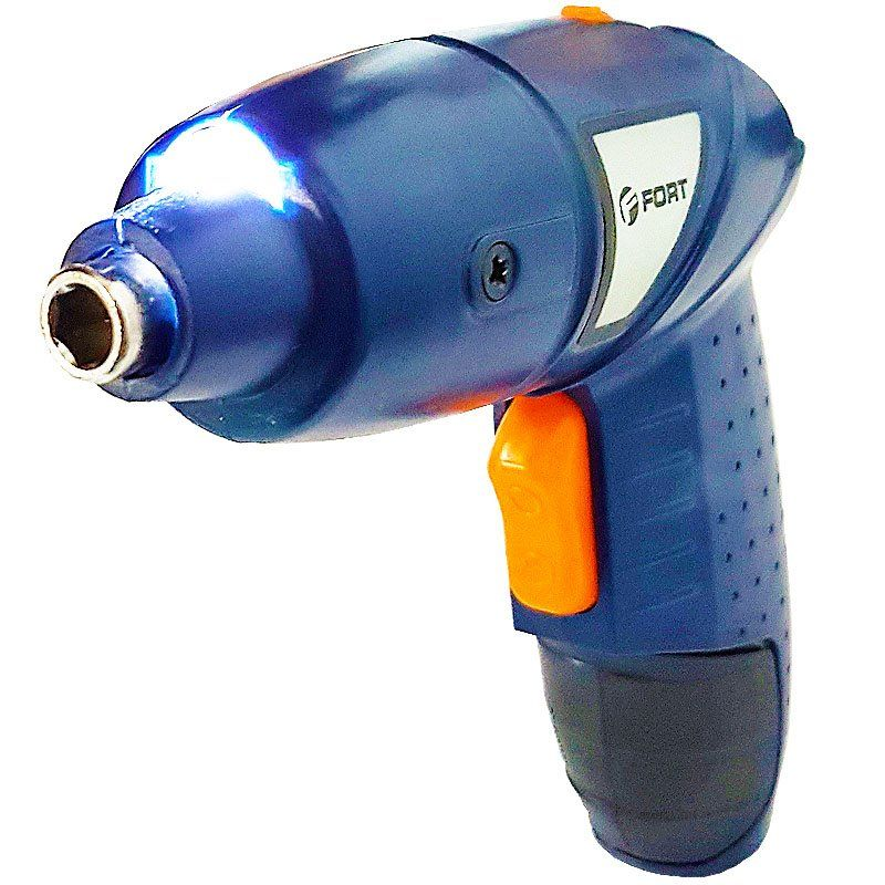 Parafusadeira e Furadeira Elétrica sem Fio Bateria 4,8V Recarregável 220V Fort FT-1021 Azul  - BEST SALE SHOP