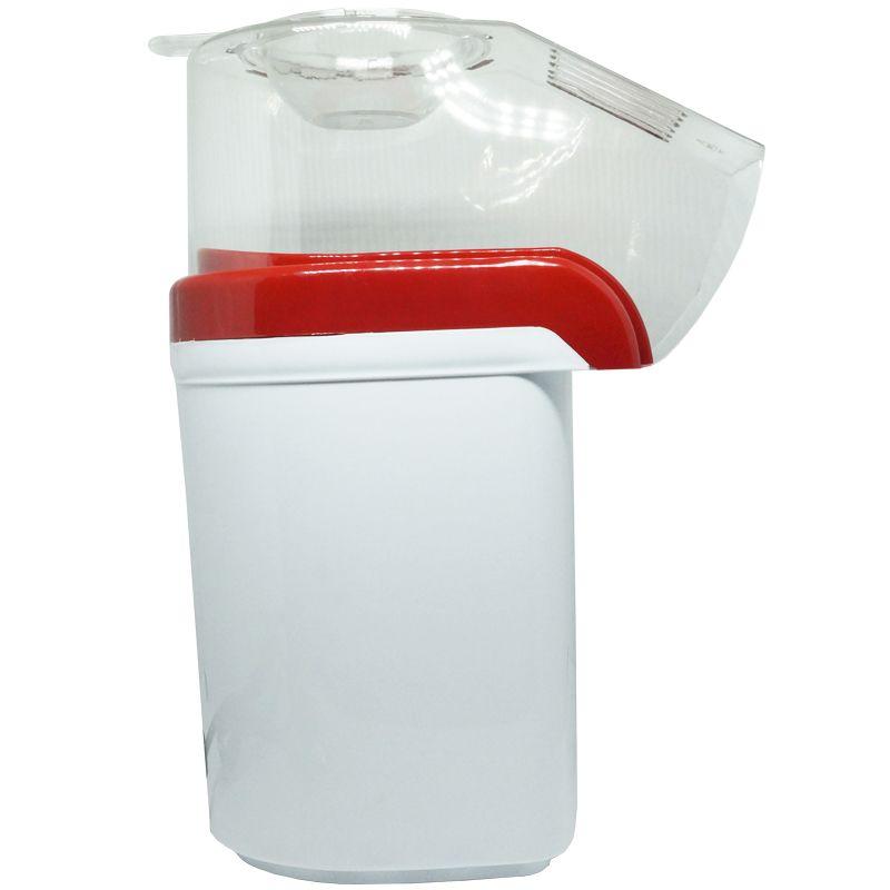 Pipoqueira Elétrica Sem Óleo 110V Derrete Manteiga Pipop Vermelha Branca Amvox APC 3406