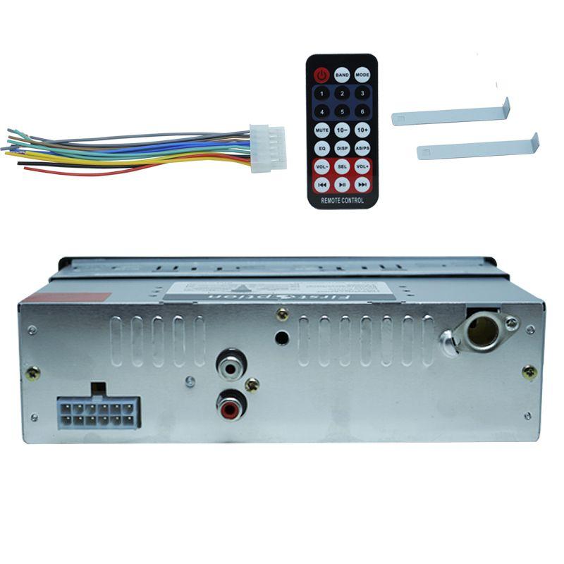Rádio Mp3 Automotivo Bluetooth Fm Usb 6680BSC + Par Alto Falante Roadstar 5 Pol 110W Rms RS-155