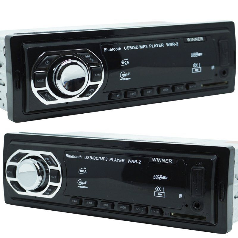 Rádio Mp3 Automotivo Bluetooth Winner Fm Usb + Par Alto Falante Roadstar 6,5 Pol 130W Rms - BEST SALE SHOP