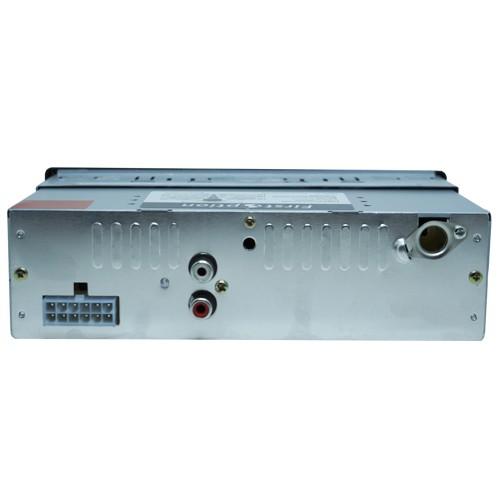 Rádio Mp3 Player Automotivo Bluetooth 6650B Fm Usb Controle + Par Alto Falante 5 Pol 100W Rms  - BEST SALE SHOP
