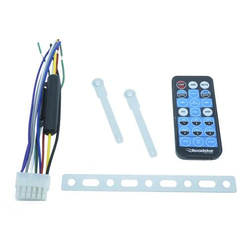 Rádio Mp3 Player Automotivo Bluetooth Fm Usb 7 Cores Iluminação + Par Alto Falante 6,5 Pol 120W Rms  - BEST SALE SHOP