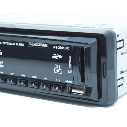 Rádio Mp3 Player Automotivo Roadstar Fm Usb Aux Controle + Par Alto Falante 5 100W Rms Quadriaxial  - BEST SALE SHOP
