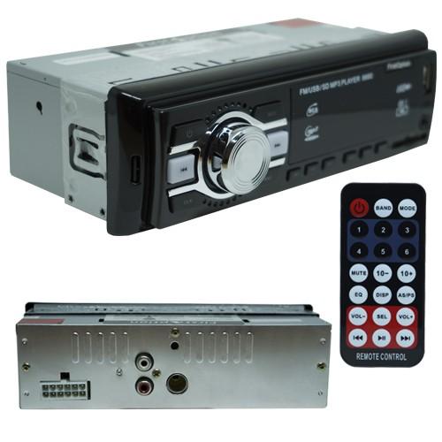 Auto Rádio Som Mp3 Player Automotivo Carro First Option 8660 Fm Sd Usb Controle  - BEST SALE SHOP