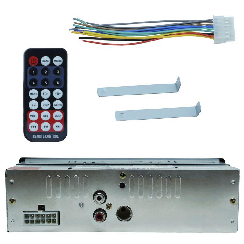 Rádio Mp3 Player Som Automotivo First Option MP3-8650 + Par Alto Falante Roadstar 6x9 Pol 240W Rms