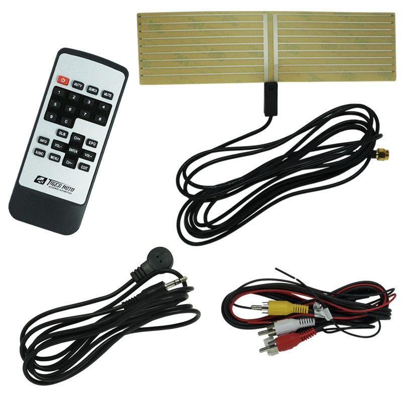 Receptor Tv Digital Automotivo para Dvd Tiger Auto 3 Saídas Antena com Controle  - BEST SALE SHOP