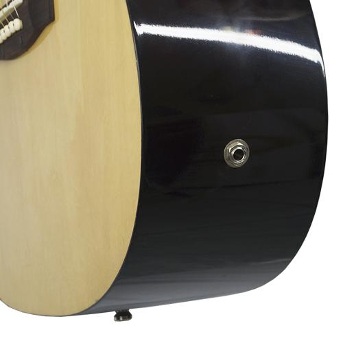 Violão Clássico Elétrico Acústico Semi Profissional Corda Aço Suzuki SDG-2CE NL Cor Natural  - BEST SALE SHOP