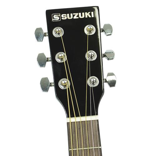 Violão Clássico Elétrico Acústico Semi Profissional Corda Aço Suzuki SDG-2CE SB Cor Sunburst  - BEST SALE SHOP