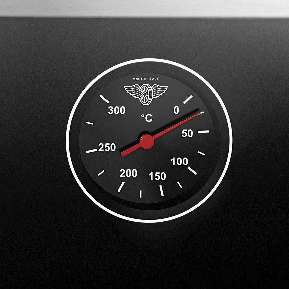 Fogão a Gás 70 cm 5 Queimadores e Forno Elétrico Futura TU75C61BX Bertazzoni La Germania