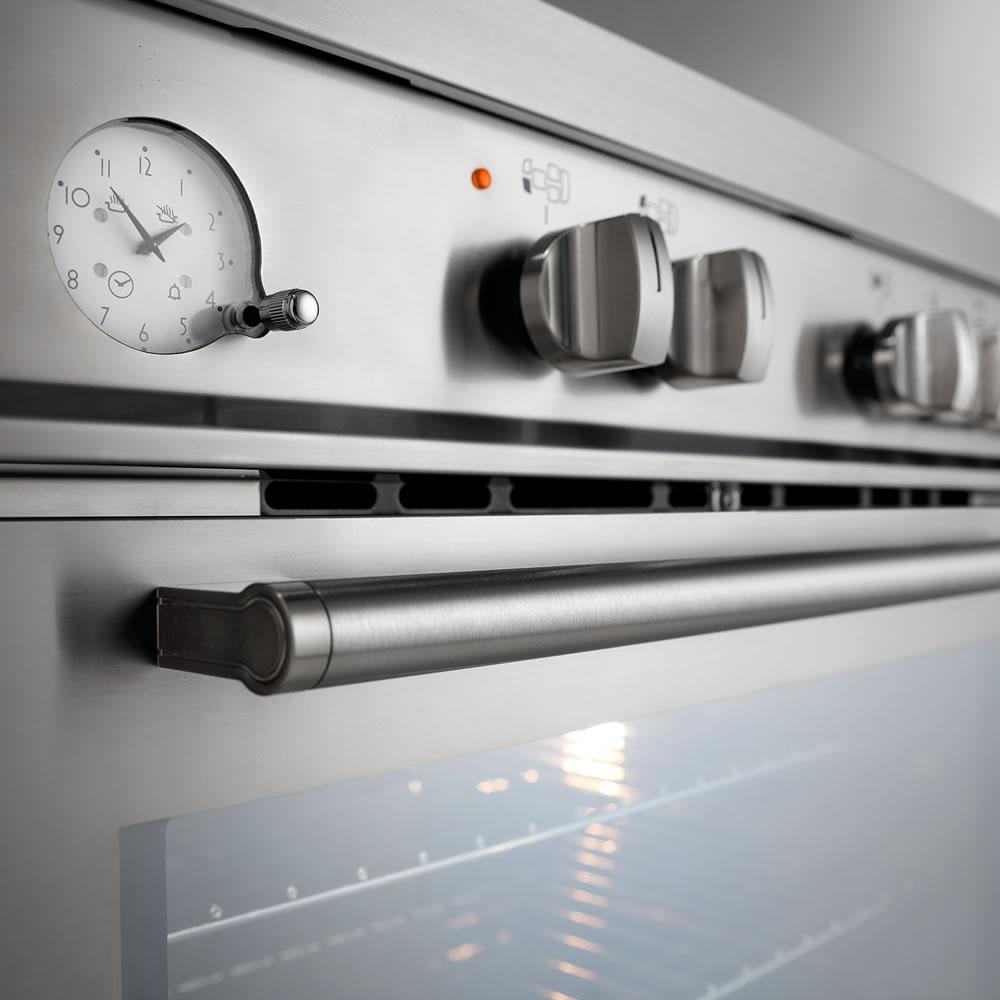 Fogão a Gás 120 cm 5 Queimadores e Forno Elétrico Argenta Luce FFE-5Q-120-XX-2TGA Elettromec