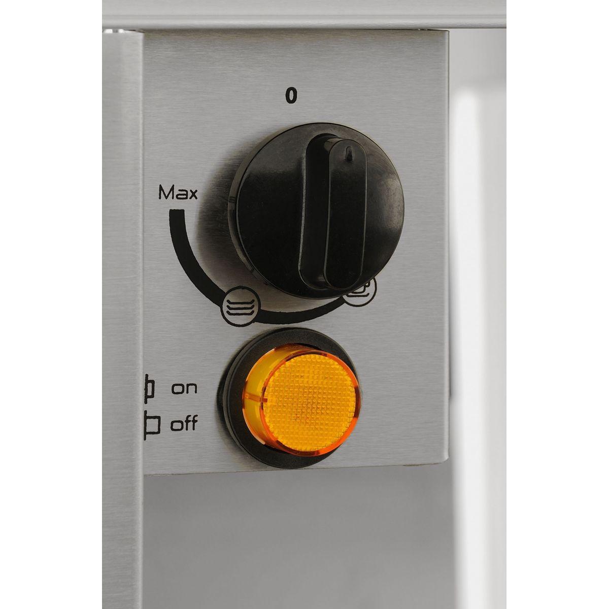 Gaveta Aquecida 14 cm Luce GA60-A14X Elettromec