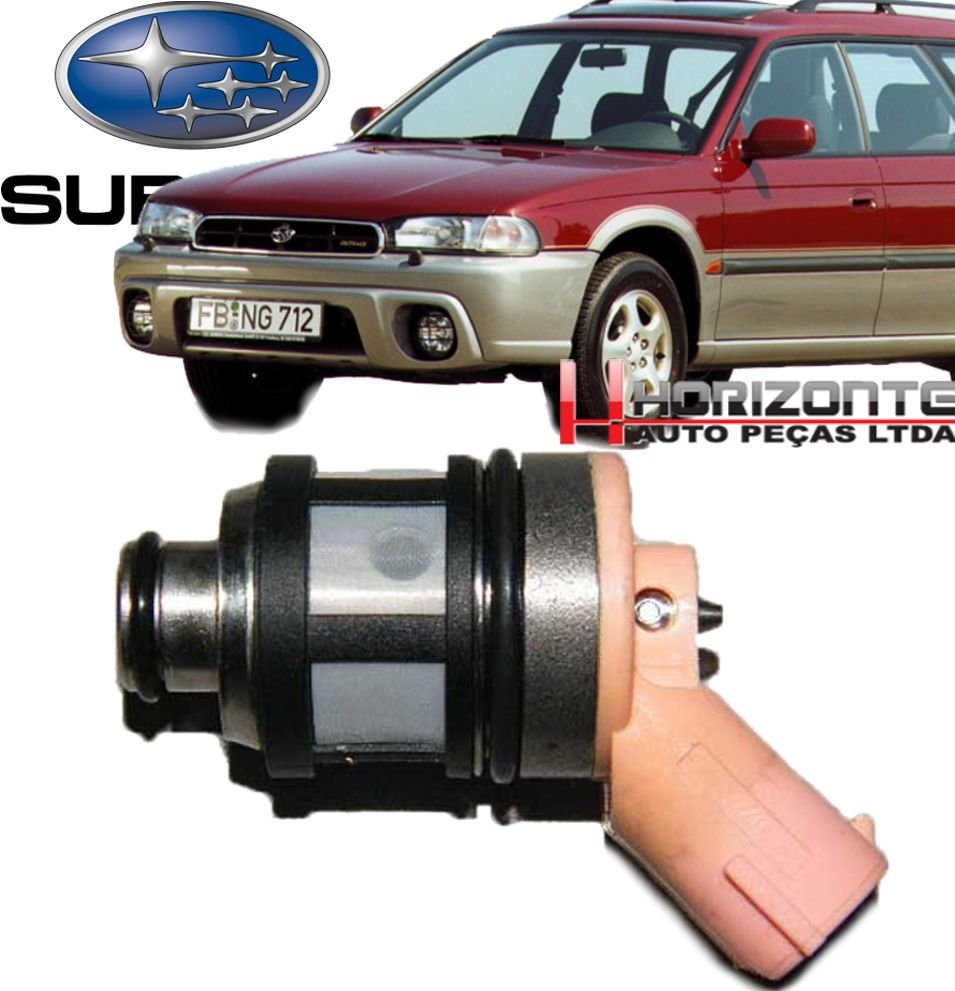 Bico Injetor Subaru Legacy E Impreza Após 1992 Js25-1
