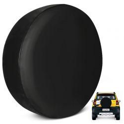 Capa de Estepe Crossfox 2005 a 2017 PVC  Sem Estampa com Cadeado