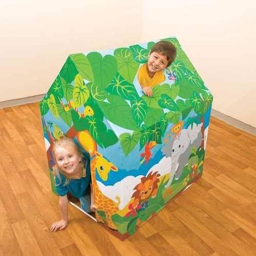Barraca Casinha Divertida Animais - Intex Brinquedo Infantil