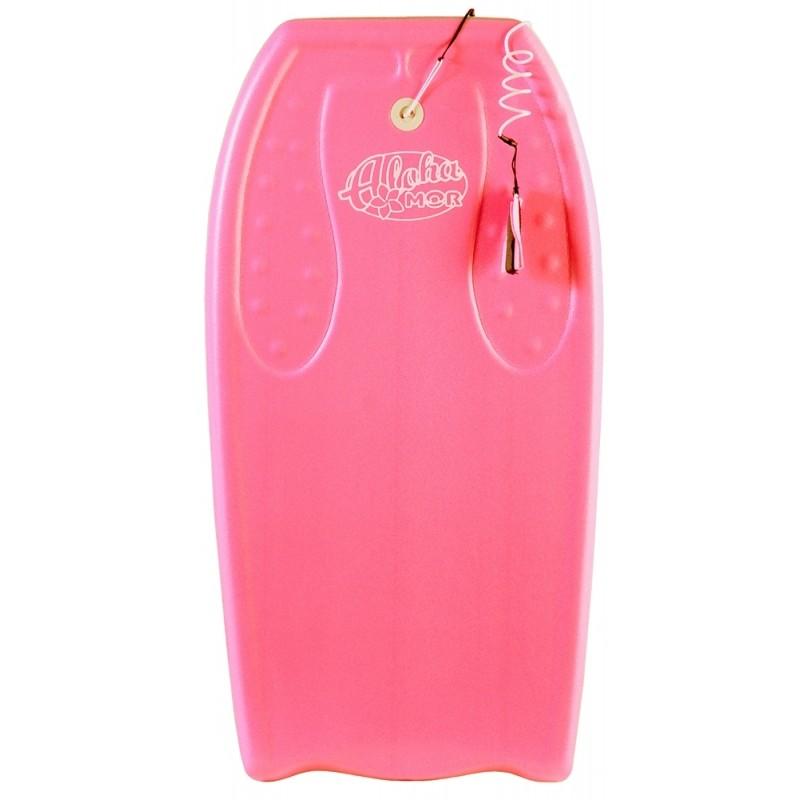 Bodyboard Grande Com Leash - Rosa