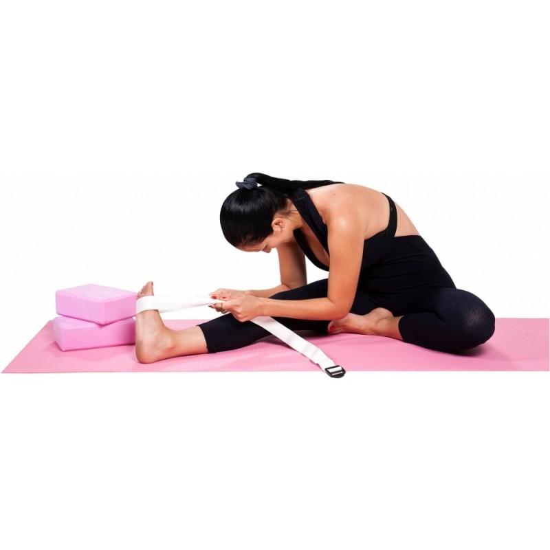 Kit Com 4 Peças Para Yoga Colchonete Bloco Cinta - Mor