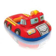 Baby Bote Inflável Bombeiro - intex