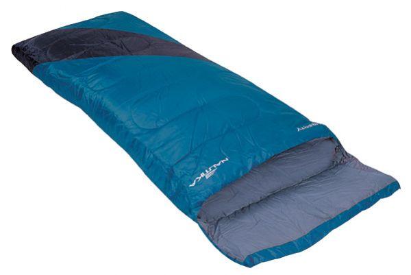 Saco De Dormir Camping Liberty 4ºc A 10ºc - Nautika + Sacola Azul