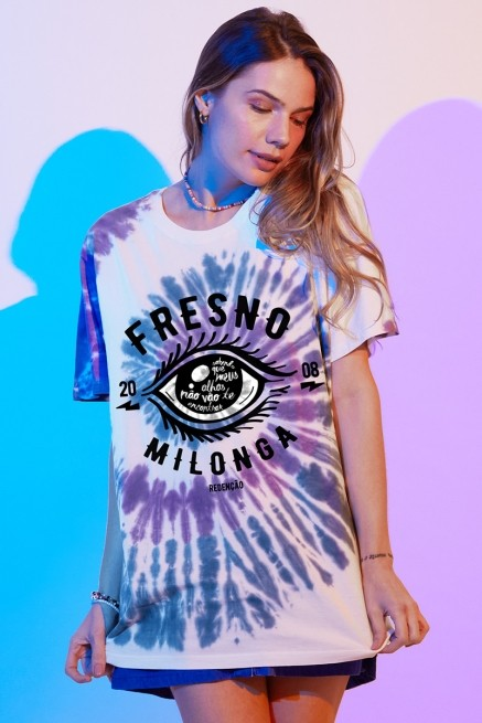 T-shirt Feminina Fresno Milonga Olho