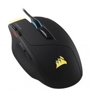 Mouse Corsair Gaming Sabre RGB - LED Customiz VEL - 8 BOTOES/10.000 DPI - Preto