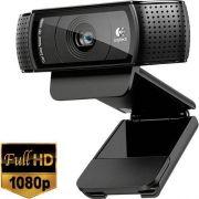 Webcam Logitech C920 PRO FULL HD 1080P com Lente CARL Zeiss 960-000764