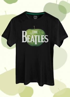 Camiseta Unissex The Beatles Logo Apple