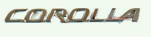 Simbolo Emblema Corolla Traseiro P/ Toyota Corolla  03 A 08  - Gabisa Online Com Imp Exp de Peças Ltda - ME