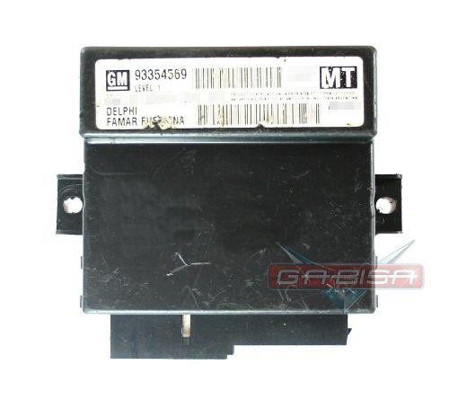 Modulo Central D Alarme 93354569 P Gm Astra Zafira 04 012  - Gabisa Online Com Imp Exp de Peças Ltda - ME