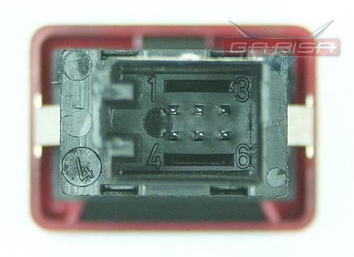 Botão Interruptor Audi A4 2006 D Pisca Alerta 8e0941509  - Gabisa Online Com Imp Exp de Peças Ltda - ME