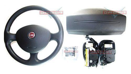 Kit Air Bag Duplo Bolsas Modulo Volant Cintos Fiat Doblo 013  - Gabisa Online Com Imp Exp de Peças Ltda - ME