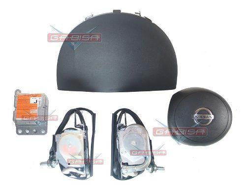 Kit Air Bag Versa 012 013 Duplo Bolsas Modulo Cintos Nissan  - Gabisa Online Com Imp Exp de Peças Ltda - ME
