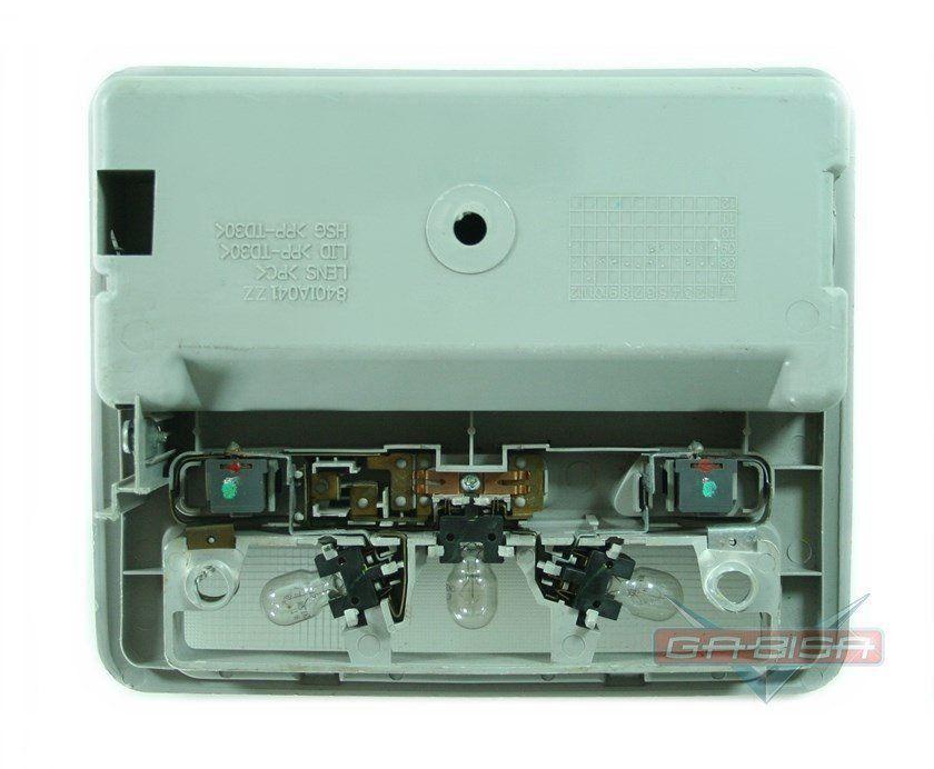 232169f2a ... Console Luz Teto Porta oculos Mitsubishi L200 Triton 07 à 14 - Gabisa  Online Com Imp