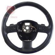 Volante Controle Som Borboletas Acab Preto A3 Sportback 06 11