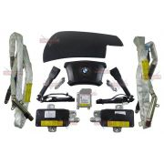 Kit Air Bag Bmw 328 01 Bolsas Modulo Fechos Cortina Teto