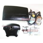 Kit Air Bag Bolsas Cintos Modulo Honda Civic 01 02 03 04 05