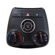Hyundai Hb20 012 018 Comando D Ar Condicionado Aro Cromado