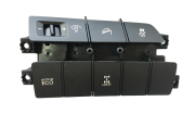 Hyundai Santa Fé 015 16 Conj Botão Cont Tração Reostato Lock