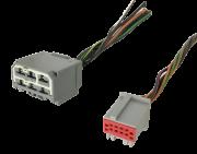 Par De Plug Conector Do Controle De Ar Condicionado Ford Fiesta Class 2013 2014 2015 ref 9739