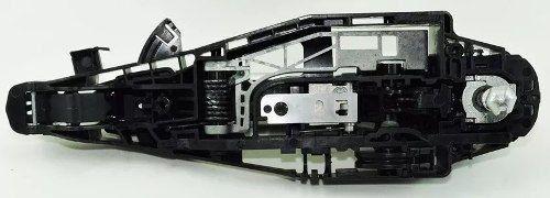 Citroen C4 2014 Maçaneta Externa Dianteira Esquerda Prata  - Gabisa Online Com Imp Exp de Peças Ltda - ME