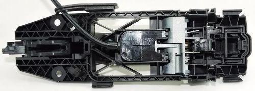 Audi A3 2014 Maçaneta Externa Traseira Esquerda Preta C Cabo  - Gabisa Online Com Imp Exp de Peças Ltda - ME
