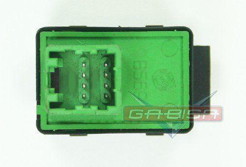Botão D Retrovisor Fiat Palio Strada Siena Idea G3  - Gabisa Online Com Imp Exp de Peças Ltda - ME